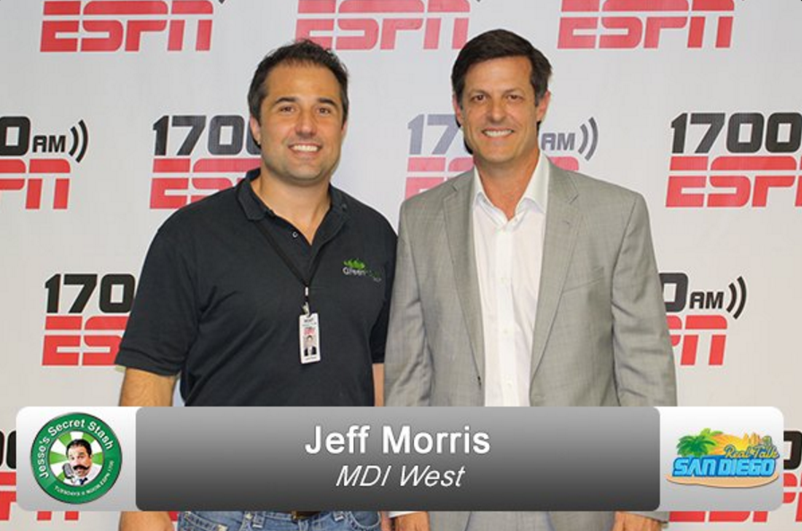 Our Managing Partner, Jeff Morris, Talking About Fix & Flipping on ESPN Radio